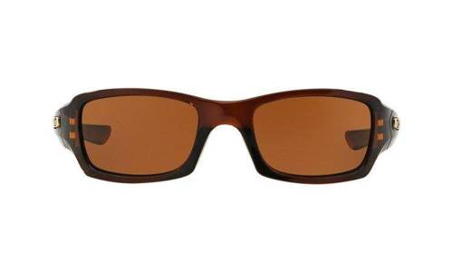 Oakley Sunglasses FIVES SQUARED Rootbeer/Dark Bronze OO9238-07 - small2