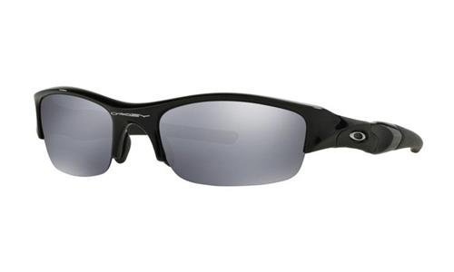 fa19e274d3 Oakley Sunglasses FLAK JACKET Jet Black Black Iridium 03-881